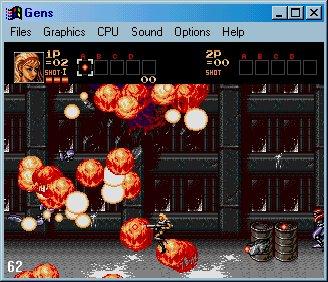 Sega Genesis Contra4