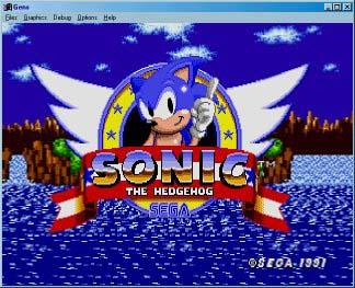 Sega Genesis Sonic1