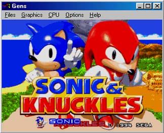 Sega Genesis Sonicknuckles