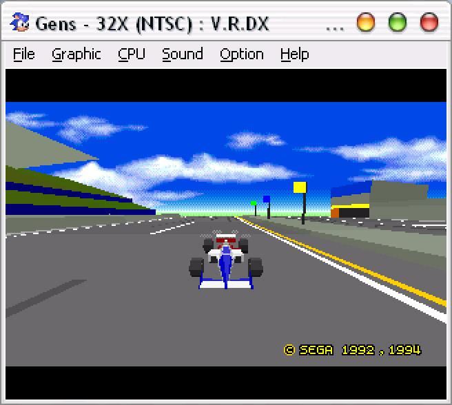 Sega Genesis Virtuaracing32X